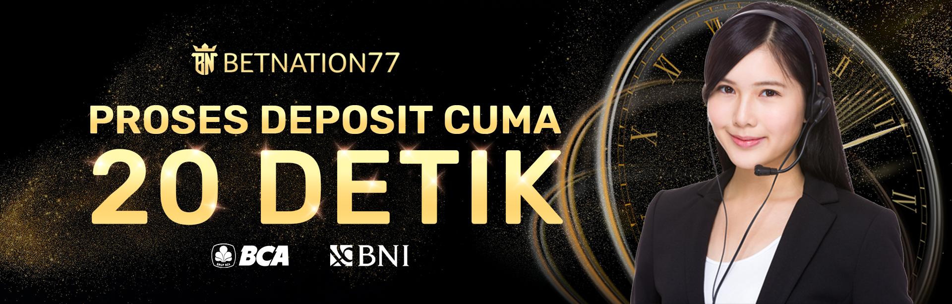 DEPOSIT HANYA 20 DETIK